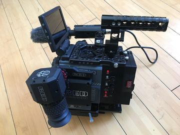 Rent: RED Scarlet-W Dragon 5K with OMOD XLR2 and EVF (OLED)