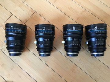 Rent: Schneider Xenon FF Lens Set (EF and PL)