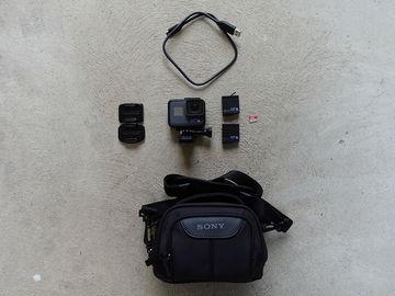 Rent: GoPro HERO6 Black, 2 Batteries, 64GB Card, Bag