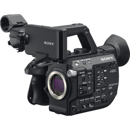 Sony FS5 w/ E to EF Metabones