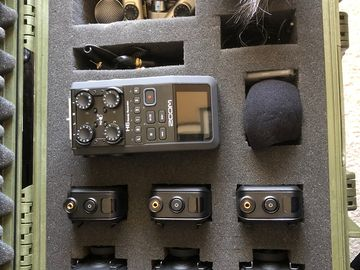 Rent: Zoom H6 with 3 Rodelink Lavs