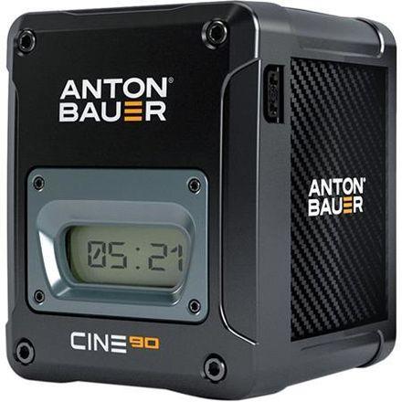 4X Anton Bauer Cine 90 Gold Mount & LP4 Charger