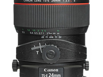 Rent: CANON TS-E 24mm f/3.5L II