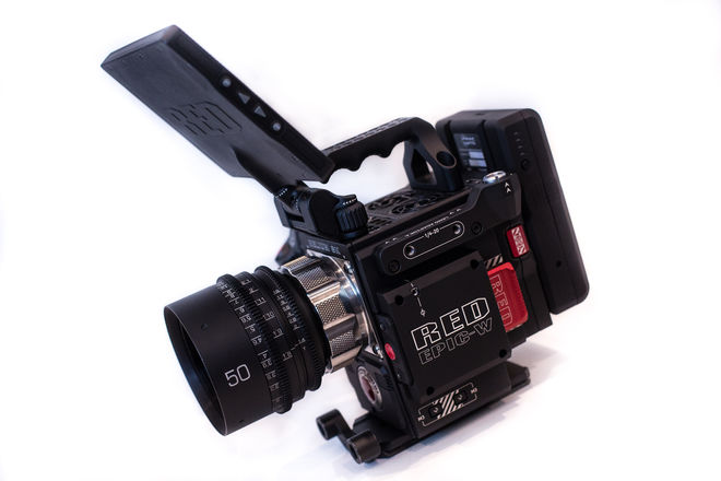 (DP or CAM-OP Package) RED EPIC-W HELIUM 8K W/ CANON LENSES
