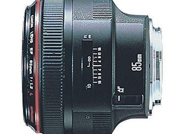 Rent: CANON EF 85mm f/1.2L