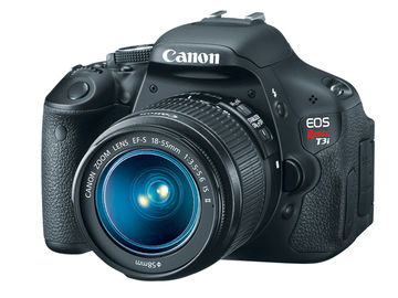 Rent: Canon T3i DSLR with 50mm and 18-55mm Lens