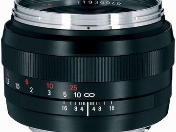 Rent: ZEISS Planar 50mm f/1.4 ZE & ZF