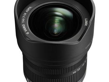 Rent: PANASONIC LUMIX 7-14mm f/4.0 (MFT)