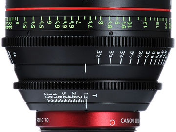 Rent: CANON CN-E85 85mm T1.3 L F Cine Lens