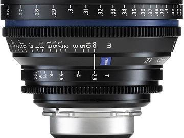 Rent: ZEISS CP.2 21mm T2.9 EF/PL/F Mount