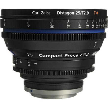 ZEISS CP.2 25mm T2.9 EF/PL/F Mount