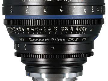 Rent: ZEISS CP.2 85mm T2.1 EF/PL/F Mount