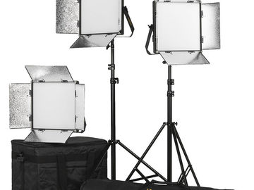 Rent: 2 of the Best Quality Bi-Color Light Panels on the market