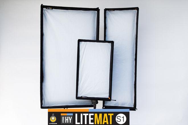 Litegear LiteMat Hybrid 3 light Interview kit #1