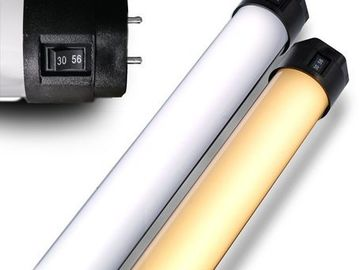 Rent: (4) 4ft Quasar Science Bi-Color LED 3000/5600K Switch Tubes