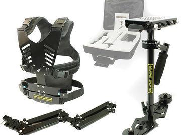 Rent: Glide Gear DNA 6002 Stabilizer Package, Vest, Arm, Steadicam