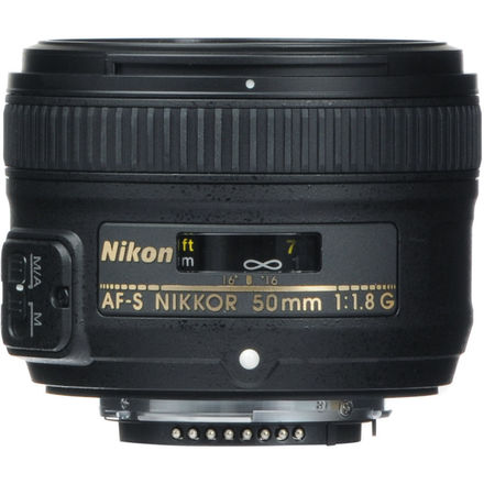 Nikon 50mm 1.8g Nikkor Prime Lens