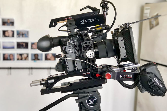 Canon C200 basic shoulder by SHAPE package
