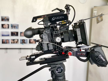 Rent: Canon C200 basic shoulder by SHAPE package