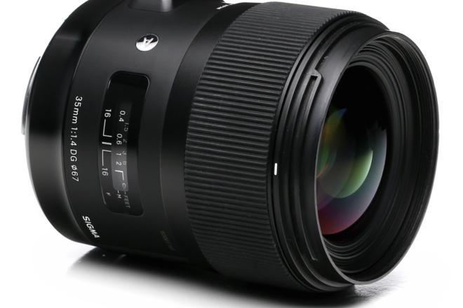Sigma 35mm, 50MM, 85MM F1.4  Art EF LENS KIT