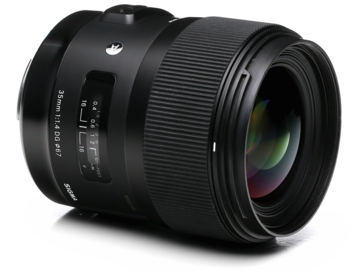 Rent: Sigma 35mm, 50MM, 85MM F1.4  Art EF LENS KIT