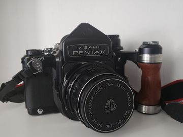 Asahi Pentax 6x7 Medium Format 120mm Film Camera