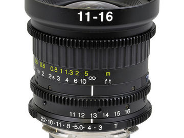 Rent: TOKINA 11-16mm PL Modified Zoom Lens