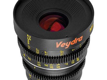 Rent: VEYDRA Mini Prime 25mm T2.2 MFT/E Mount