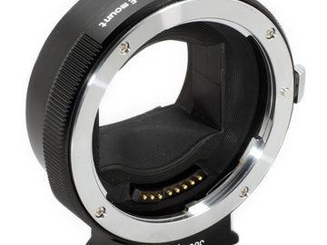Rent: METABONES EF lens to NEX Smart Adapter
