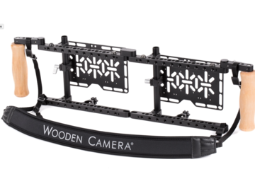 Rent:  Wooden Camera Dual Director's Monitor Cage v2
