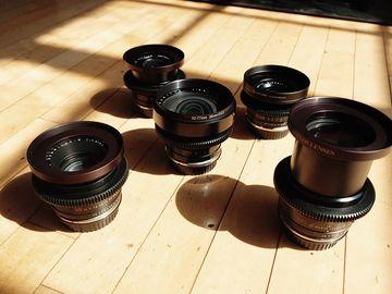 Rent:  Leica R Cine-mod 5-Lens Speed Set (EF Mount) (Downtown)