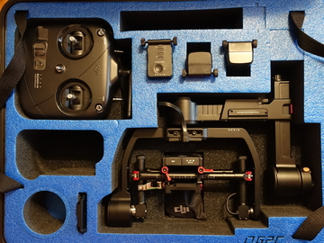 Rent: DJI Ronin M Batteries x 3 Thumb Controller Best Package!