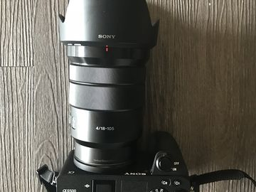 Rent: Sony  a6500 Mirrorless w/ 18 - 105mm Lens