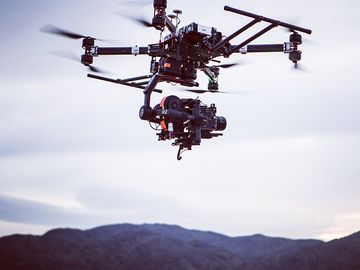 Rent: Full Service Drone W/Red, Arri, Complete