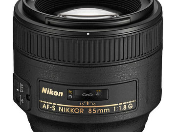 Rent: Nikon AF Nikkor 85mm f/1.8G
