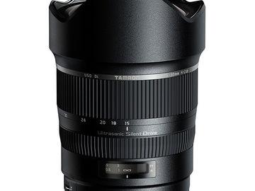 Rent: Tamron SP 15-30mm f/2.8 Di VC USD