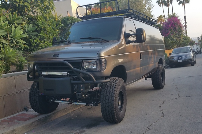 Rent A Cargo Van 4x4 Ford Econoline 250 Sharegrid Los Angeles