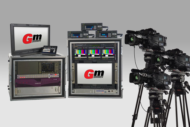 3 Camera Live Production Package