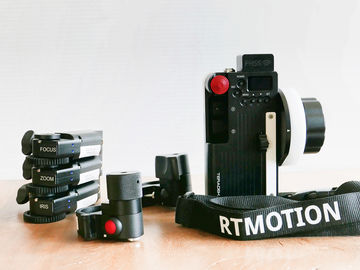 Rent:  RTmotion Wireless Follow Focus FIZ (+ zoom and focus knob)