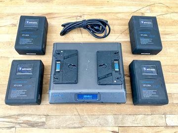 Rent: Arboretum Switronix XP-L90S Gold Mount Battery Set