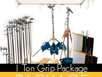 Rent: 1 Ton Grip Package w/ Arri Frensel Lighting Pkg