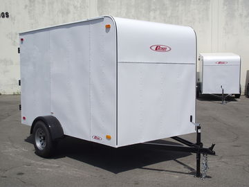 "Rent: 5x8 Trailer with 2"" Ball"