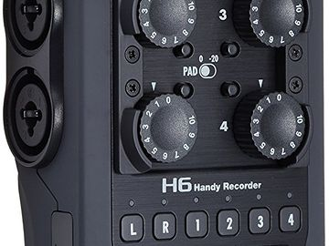 Rent: Zoom H6 Six Track Portable Audio Recorder