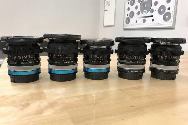 "(Pick 1) Canon Vintage FD SSC ""Cine"" 5  Lens Set (EF and E)"