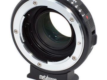Rent: METABONES Speed Booster Nikon G Lens to BMCC