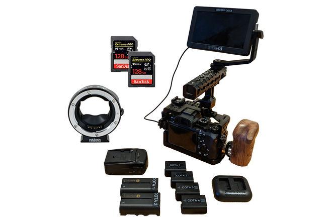 Deluxe Sony a7S II Kit w/ SmallHD, EF Mount)