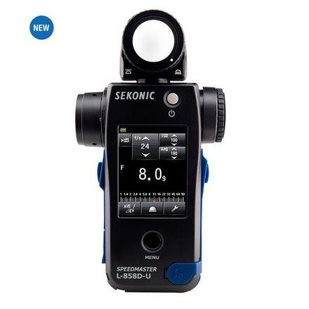 Sekonic Speedmaster L-858D-U Lightmeter Cine Light Meter