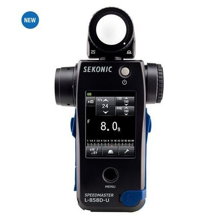 Sekonic Speedmaster L-858D-U Lightmeter Cine Light Meter