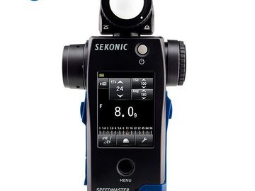 Rent: Sekonic Speedmaster L-858D-U Lightmeter Cine Light Meter
