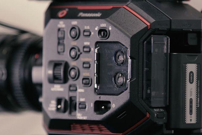 Panasonic AU-EVA1 Compact 5.7K Super 35mm Cinema Camera